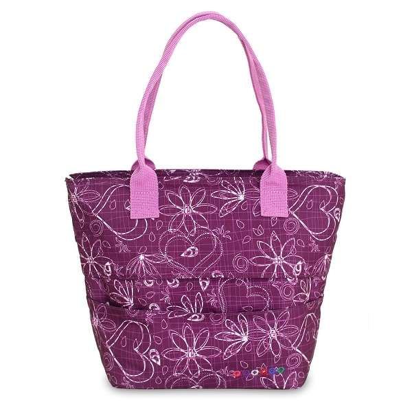 J World New York Love Purple Lola Lunch Tote