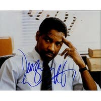 Signed Washington Denzel 8x10 Photo autographed