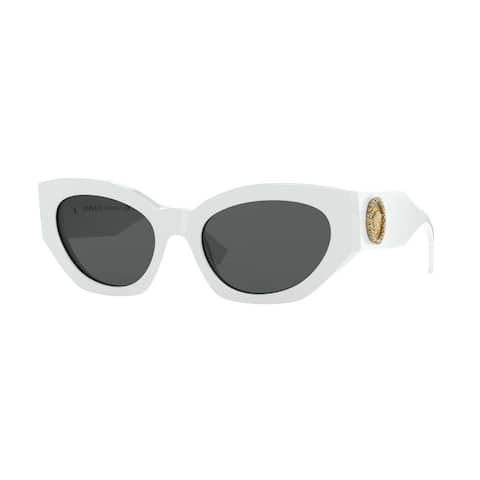 Versase VE4376B 401/87 54 White Woman Irregular Sunglasses