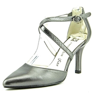 Anne Klein Fion Pointed Toe Leather Heels