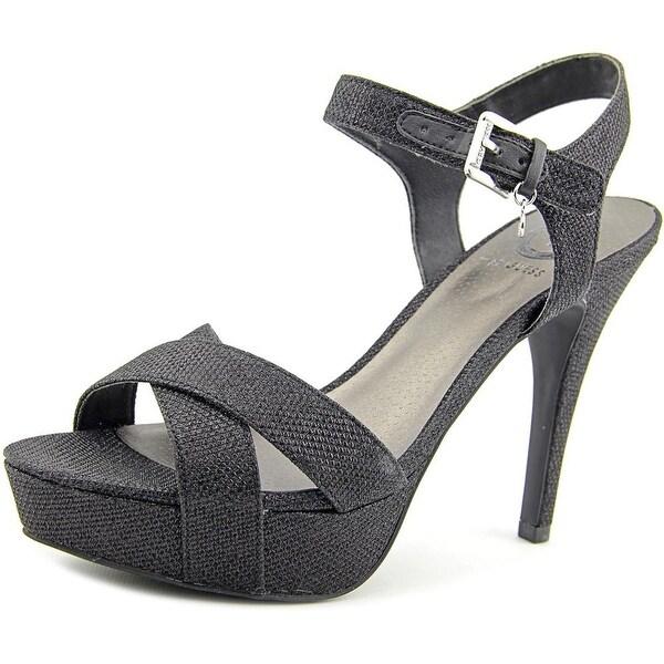 G By Guess Cenikka 2 Women Open Toe Canvas Platform Sandal