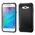 Insten Dual Layer Hybrid Rubberized Hard PC/ Silicone Case Cover For Samsung Galaxy J7 2015 Version - Thumbnail 0