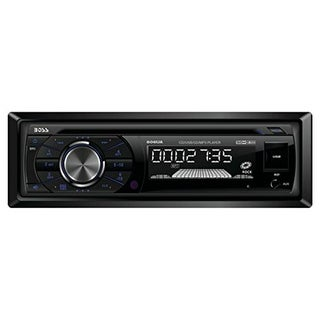 BOSS AUDIO BOS506UAB Single Din In-dash Mp3-compatible Cd and Am fm Receiver