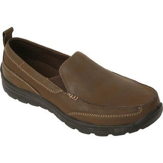 Deer Stags Men's Everest Slip-On Brown