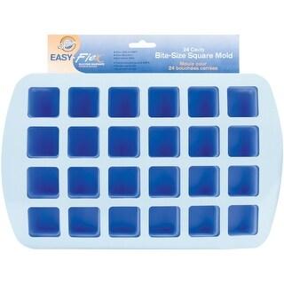 """Easy-Flex Silicone Bite-Size Mold-24 Cavity Square 1.5""""X.75"""""""