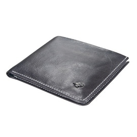 Ikepod Hide & Carry Wallet (Grey of 4 Color) [ Italy Made // Top Leather]