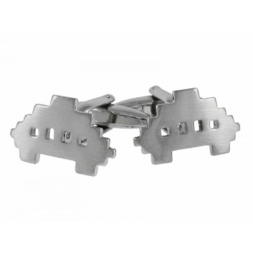 80S Video Game Space Invaders Cufflinks