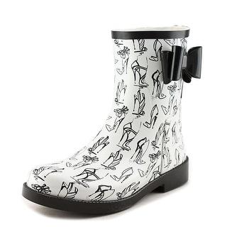 Jessica Simpson Raila Round Toe Synthetic Rain Boot