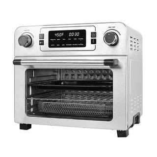 Link to USBLUEWAVE 1700W 10-in-1 Large Digital Air Fryer Oven Convection Rotisserie Oven Toast/Bake/Broil/Roast/Dehydrate 24Qt Similar Items in Kitchen Appliances