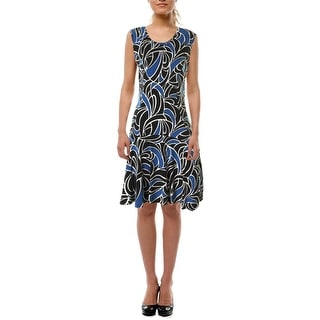 MICHAEL Michael Kors Womens Sleeveless Knee-Length Wear to Work Dress - M