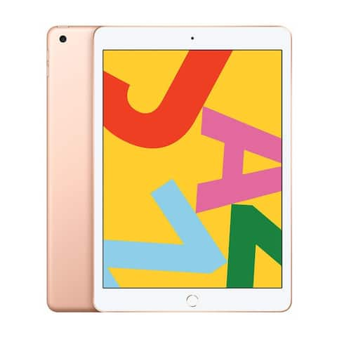 Apple iPad 10.2-Inch Tablet (Late 2019, 32GB, Wi-Fi Only, Gold)