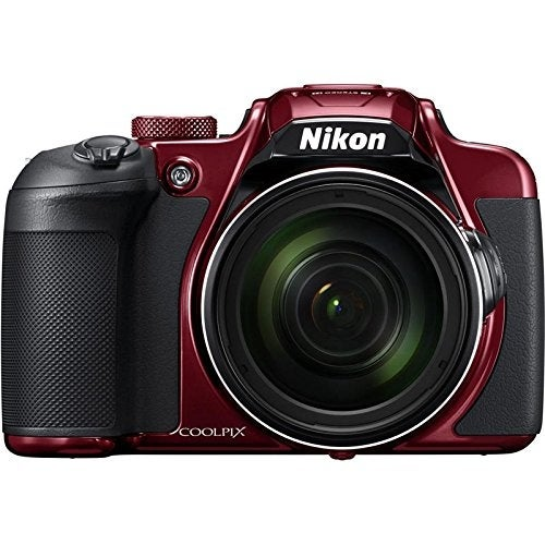 Nikon COOLPIX B700 20.2MP Compact Digital Camera - Red (International Version No Warranty) (Certified Refurbished)
