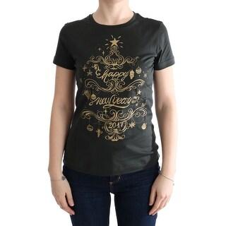Dolce & Gabbana Dolce & Gabbana Green Cotton 2017 Motive T-Shirt