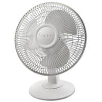 Lasko 12  Inch Table Fan - White 12  Inch Table Fan