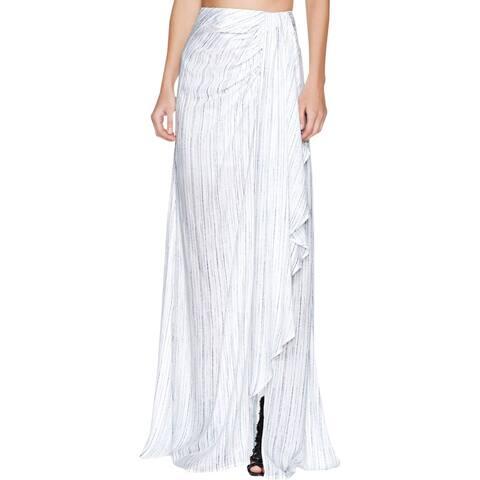 TJD Womens Mystic Maxi Skirt Striped Wrap