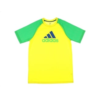 Adidas Boys Graphic Colorblock T-Shirt - XL
