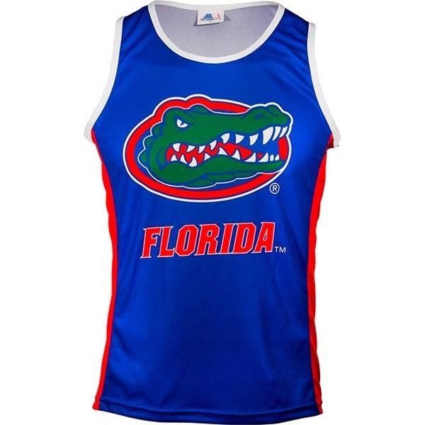Adrenaline Promotions Women's Florida University Run/Tri Singlet - Blue