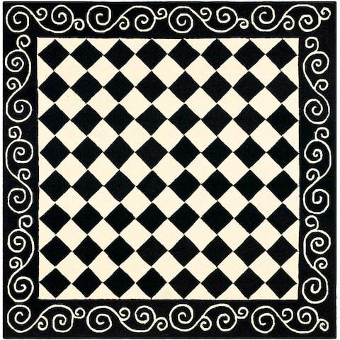 Safavieh Hand-hooked Chelsea Marlee Country Oriental Wool Rug