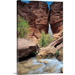 """Deer Creek Falls, Grand Canyon National Park, Arizona"" Canvas Wall Art"