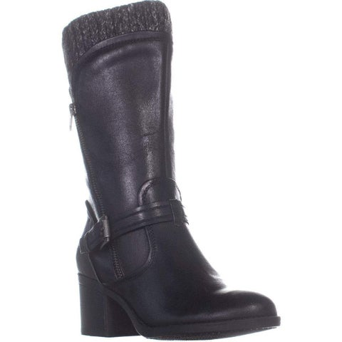 Bare Traps Womens Weslin Round Toe Mid-Calf Cold Weather Boots