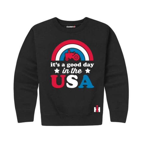 It's A Good Day In The Usa - Toddler Crew Fleece