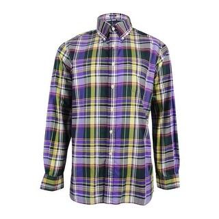 Polo Ralph Lauren Men\u0027s Plaid Shirt - Lavender