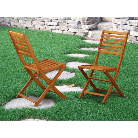 BBSCWNA Solid Acacia Solid wood Outdoor Side Foldable Chair
