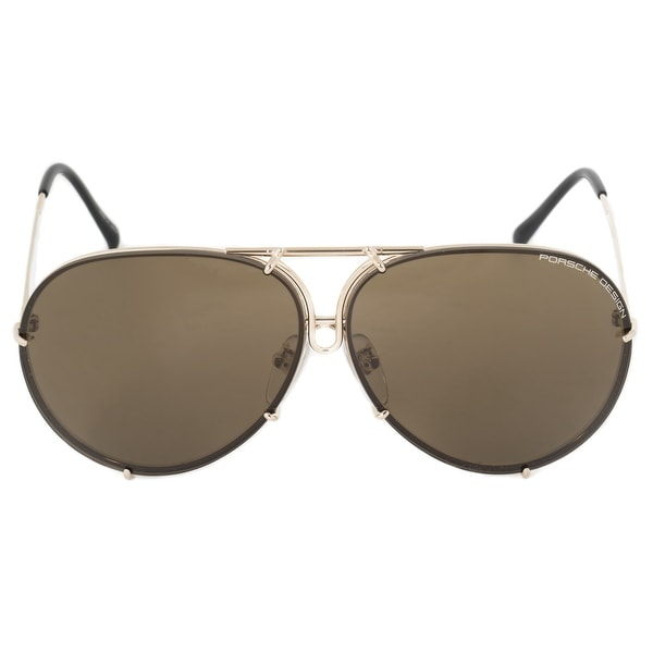 c814b0ffe60 Shop Porsche Aviator Sunglasses P8978 A 69 - Free Shipping Today ...
