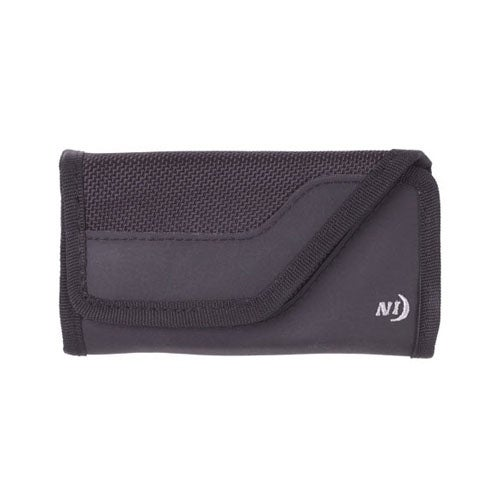 Nite Ize Medium Velcro Clip Case Sideways with Flex Belt Clip (Black) Universal