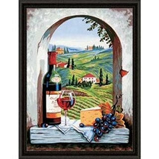 "Tuscan View - Paint Works Paint By Number Kit 11""X14"""