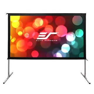 "Elite Screens OMS180H2-DUAL Yard Master 2 Dual Series WraithVeil 180"" Outdoor Projector Screen"