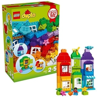 LEGO Duplo 120-Piece Creative Box 10854 - Multi