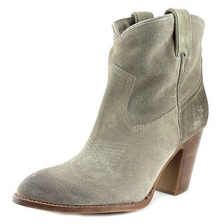 Frye Ilana Short Boot Women Pointed Toe Suede Bootie