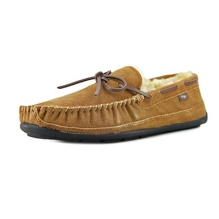 Dije California Sante Fe Moc Toe Suede Slipper