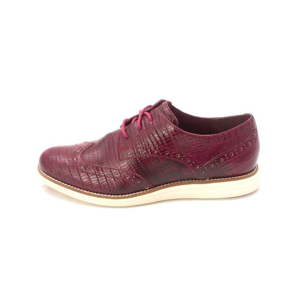 Cole Haan Womens W01709 Low Top Lace Up Fashion Sneakers - 6