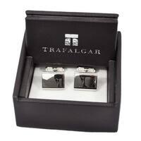 Trafalgar Beene Cuff Links Silver