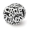 Sterling Silver Reflections Circle of Friends Bead (4mm Diameter Hole) - Thumbnail 0