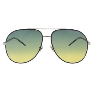 Christian Dior DIORASTRAL 0DTY Blue Ruth Aviator Sunglasses - 59-14-145