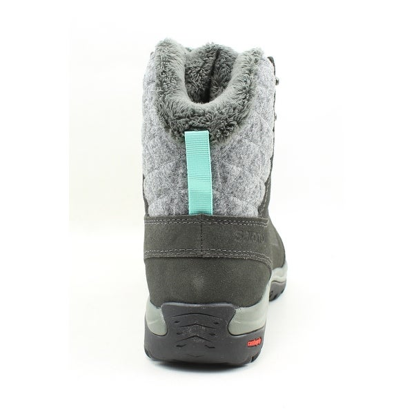 Shop Salomon Womens Ellipse Winter Gtx Gray Snow Boots Size