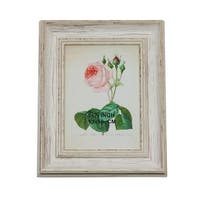 """9.75"""" Vintage Inspired Distress Finished White Photo Picture Frame 5"""" x 7"""""""