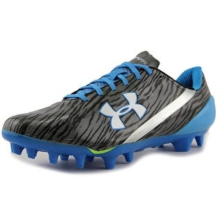 Under Armour Team Spotlight Men  Round Toe Synthetic Silver Cleats
