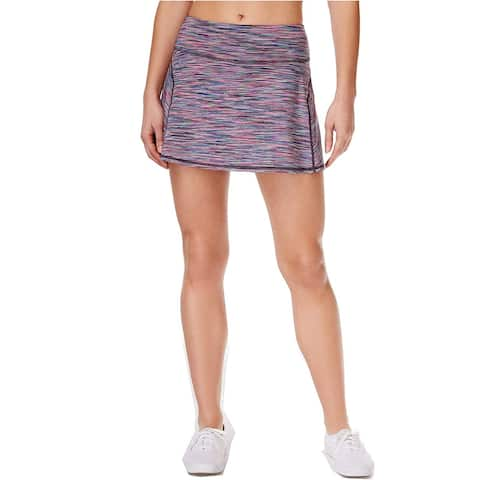 Ideology Women's Spaced-Dyed Skort Multicolored (XL)