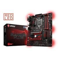 MSI Motherboard Z370 GAMING PLUS ATX Intel Z370 64GB DDR4 PCI Express SATA LAN Retail
