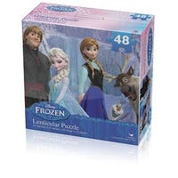 Disney Frozen Lenticular Puzzle 48-Piece Styles Will Vary