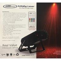 Eliminator Lighting  Red & Green Laser Effect with Multiple Sky Beams