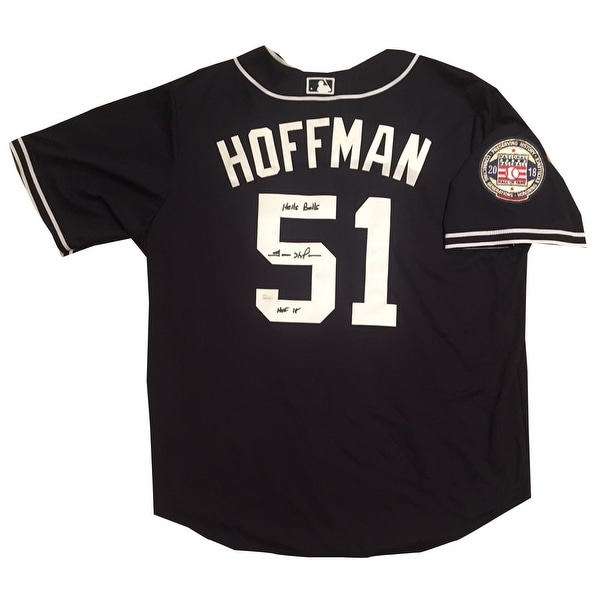 finest selection e12ae 60213 Shop Trevor Hoffman Autographed San Diego Padres Hall of ...