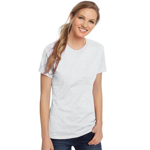 Hanes Women's Nano-T® T-shirt - Size - L - Color - Ash