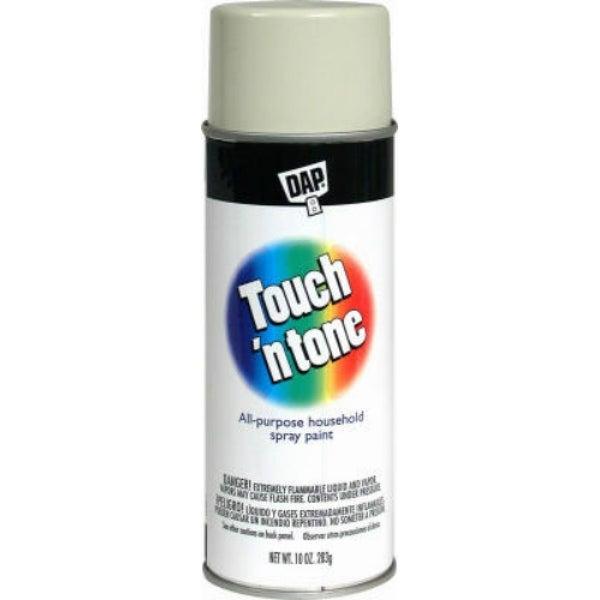 Dap 55280830 Touch N' Tone Multi-Purpose Spray Paint, 10 Oz, White