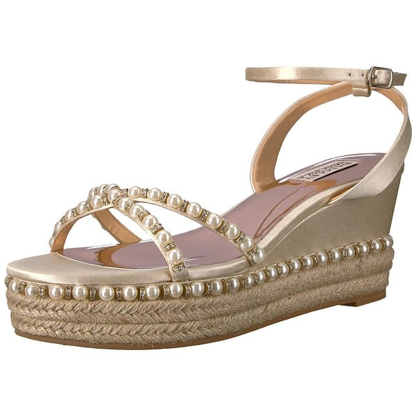 3c1117c336e Shop Badgley Mischka Women's Skye Espadrille Wedge Sandal - Free ...