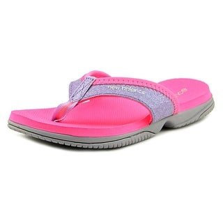 New Balance K2017 Youth Open Toe Synthetic Pink Thong Sandal